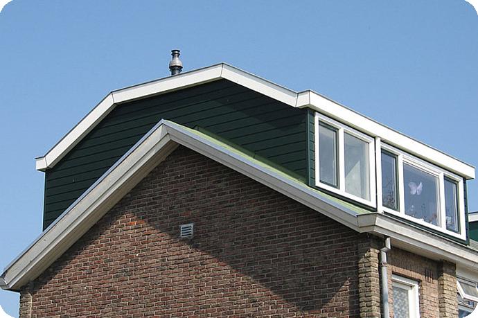 Kosten nokverhogende dakkapel